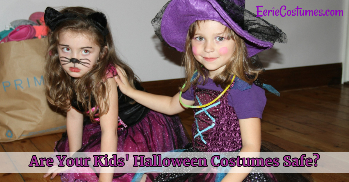 Are Your Kids Halloween Costumes Safe