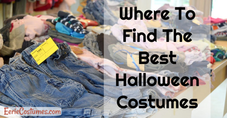 Where To Find The Best Halloween Costumes