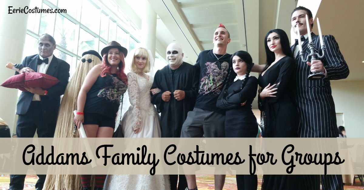 Addams Family Costumes for Groups