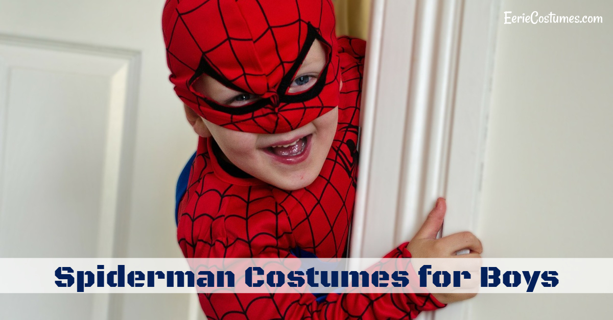 Spiderman Costumes for Boys