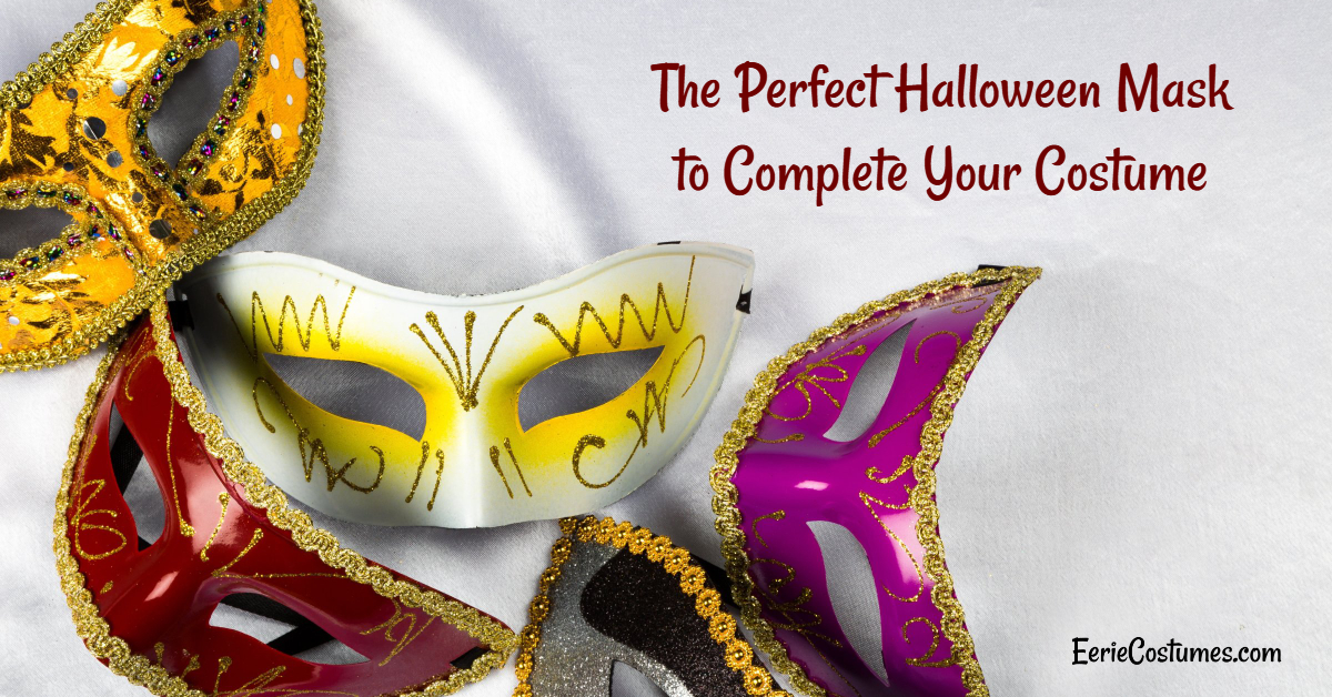 The Perfect Halloween Mask to Complete Your Costume