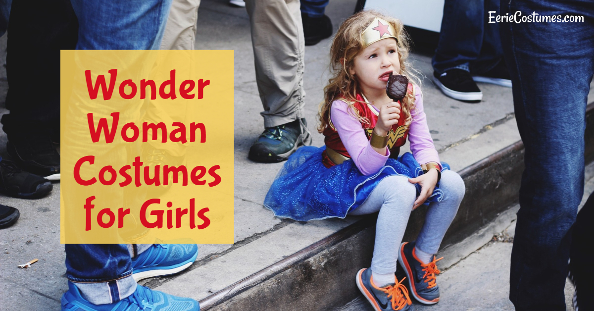 Wonder Woman Costumes for Girls